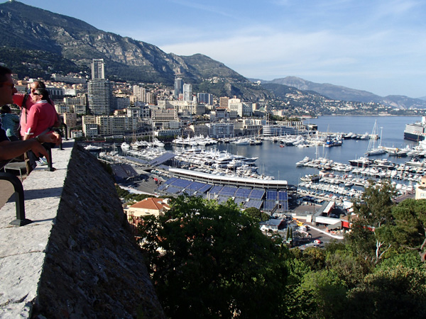 Monte Carlo, Monaco skyline