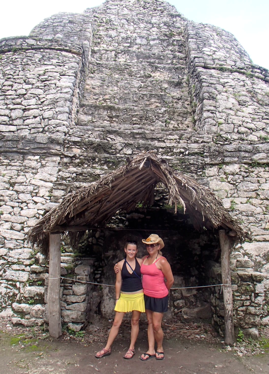 Sherry and Jenna in Mexico