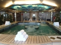 Spa on the Holland America Eurodam—one of the biggest spas at sea